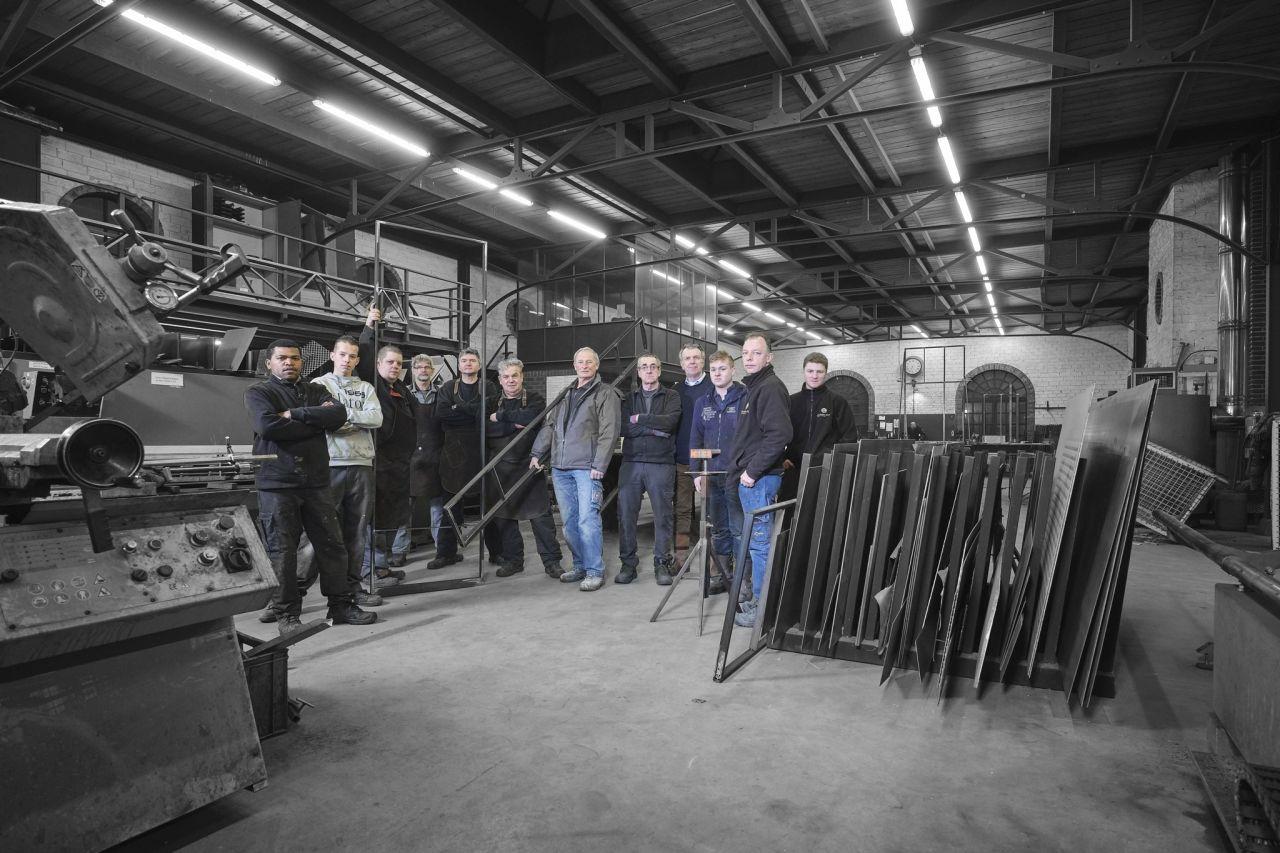 Mannen van staal, het team van Exclusive Steel stalen deuren.