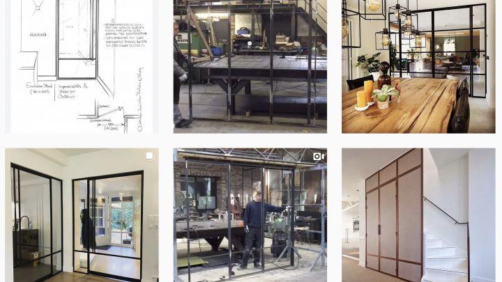 Een dag op Instagram. Doe inspiratie op voor de stalen deuren van Exclusive Steel in de socials.