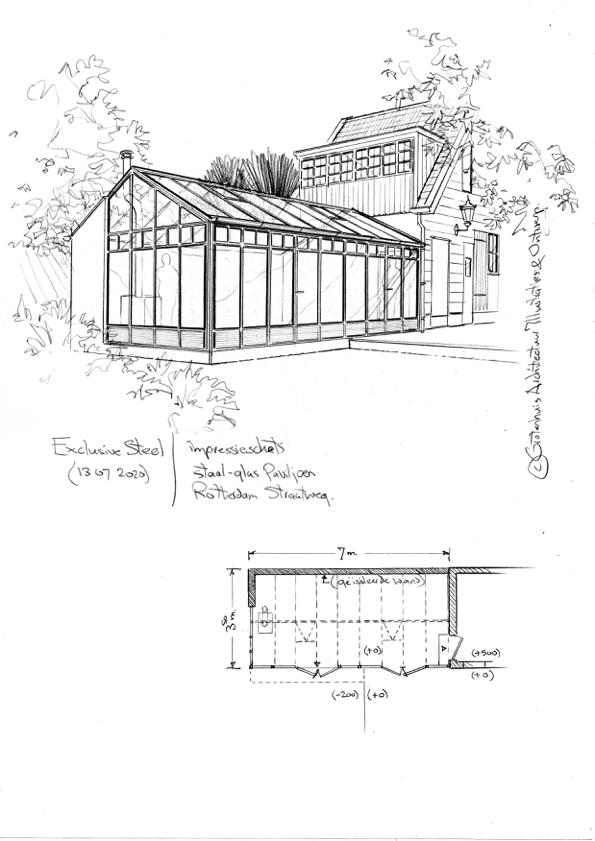 Ontwerptekening Orangerie