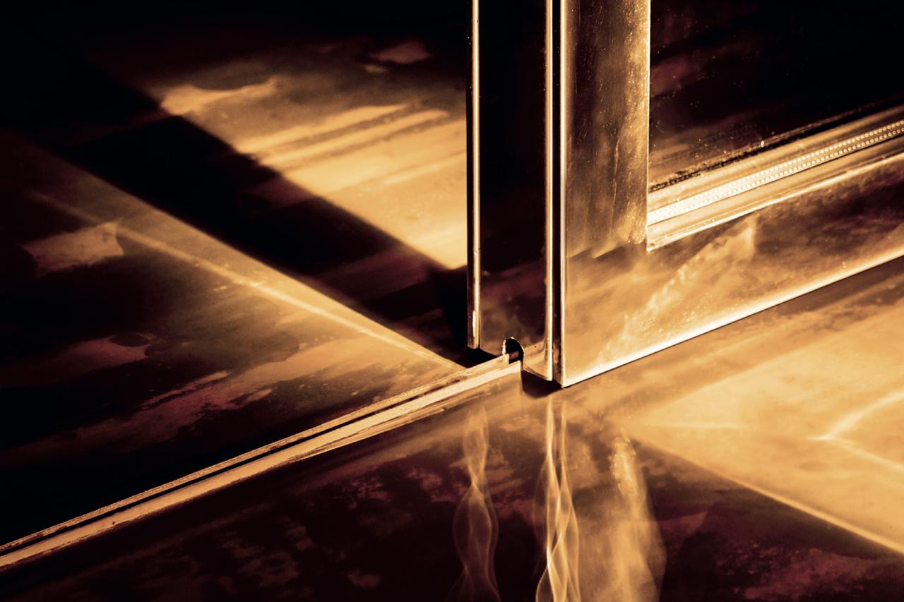 Afbeelding: Schuifdeur op magneetrail