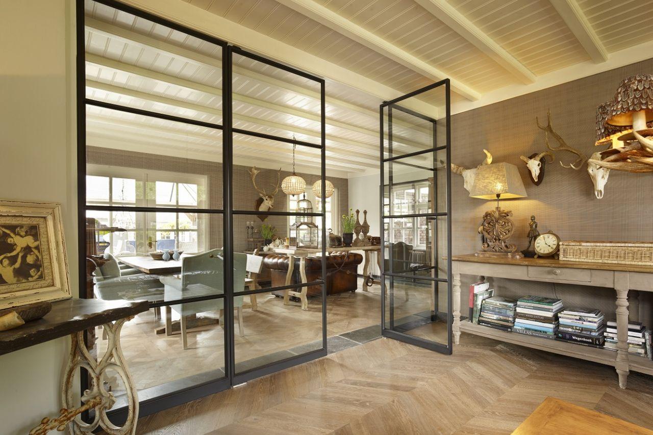Afbeelding: Taatsdeuren en vloerverwarming, kan dat?